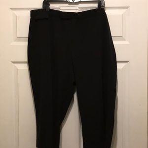 Women's CJ Banks black stretch pants 24w